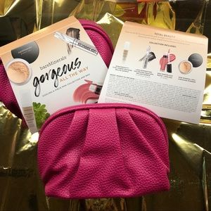 BareMinerals Essentials plus Pink Pouch